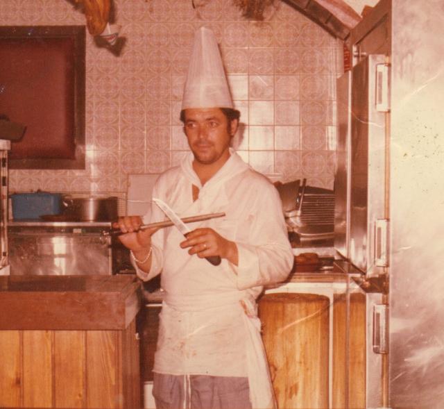 Cocinero experto